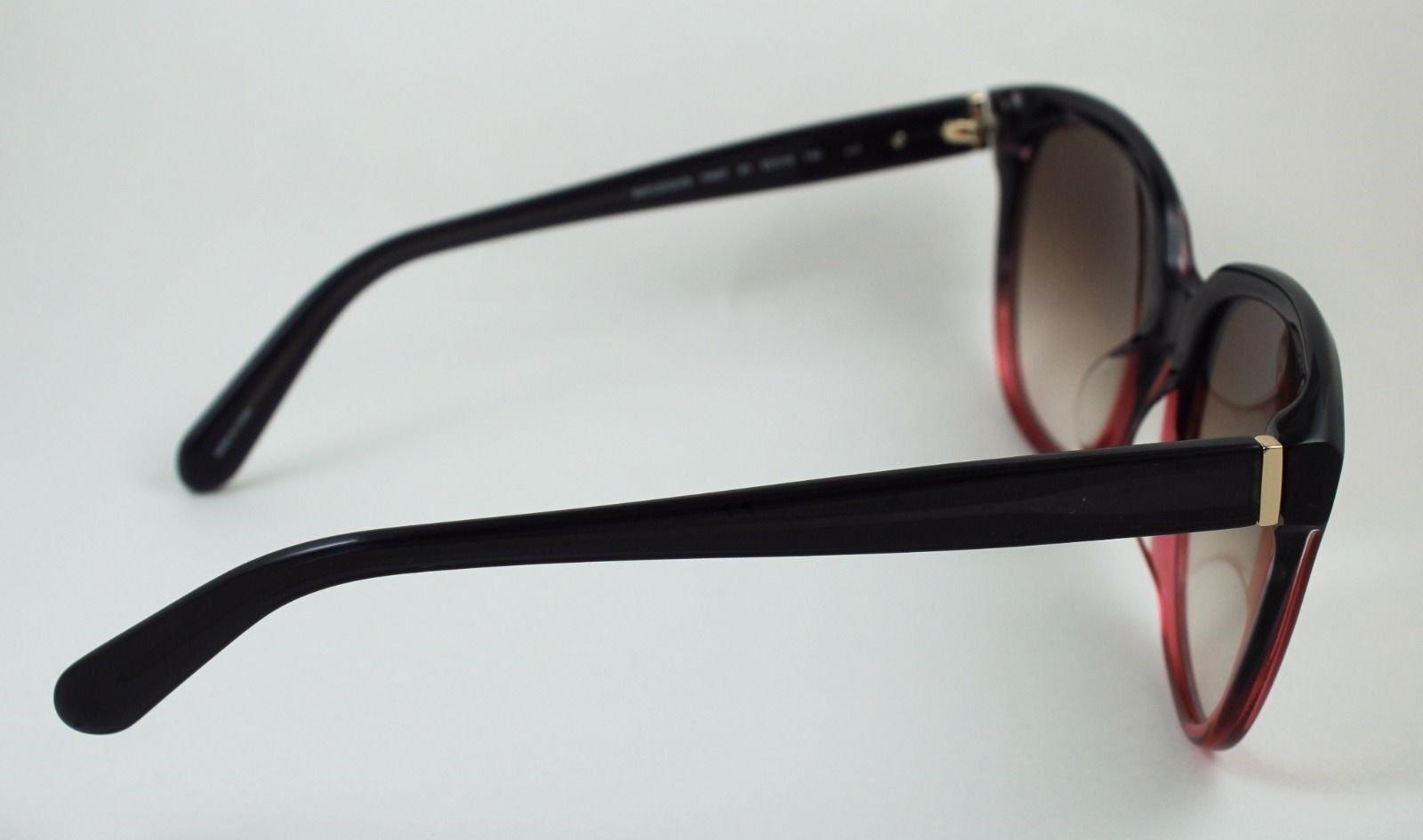 6e11ebf0593ec Kate Spade Bayleigh S Sunglasses Rose to Black Tortoise Fade Brown Gradient  55mm