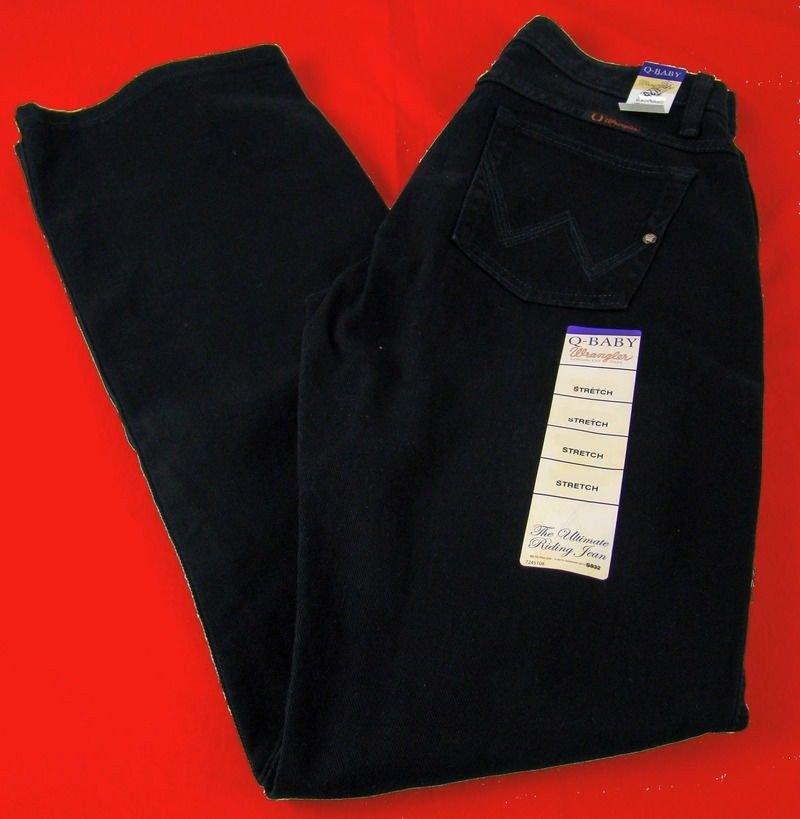 WRQ20BL Wrangler Ladies Q-Baby Jeans Black Magic NEW