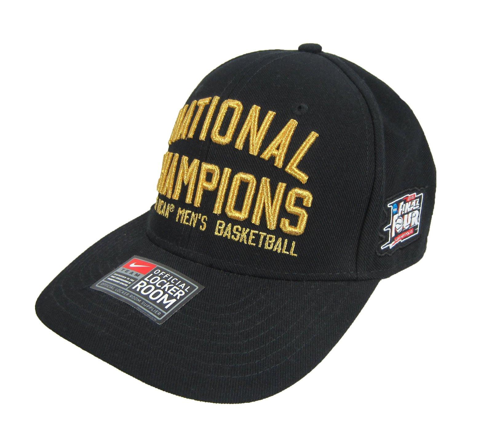 Nike Duke National Champions 2015 NCAA Men s Basketball Hat Black Gold  Snapback eddb58033c5