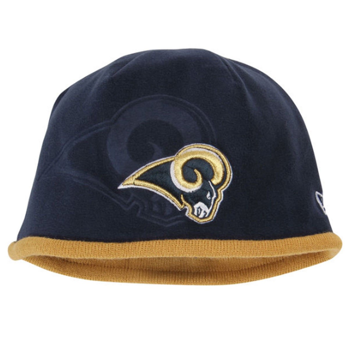 Details about NWT NFL Official Los Angeles Rams Blue and Gold Tech Knit Hat  New Era Cap OSFM cc28b228226