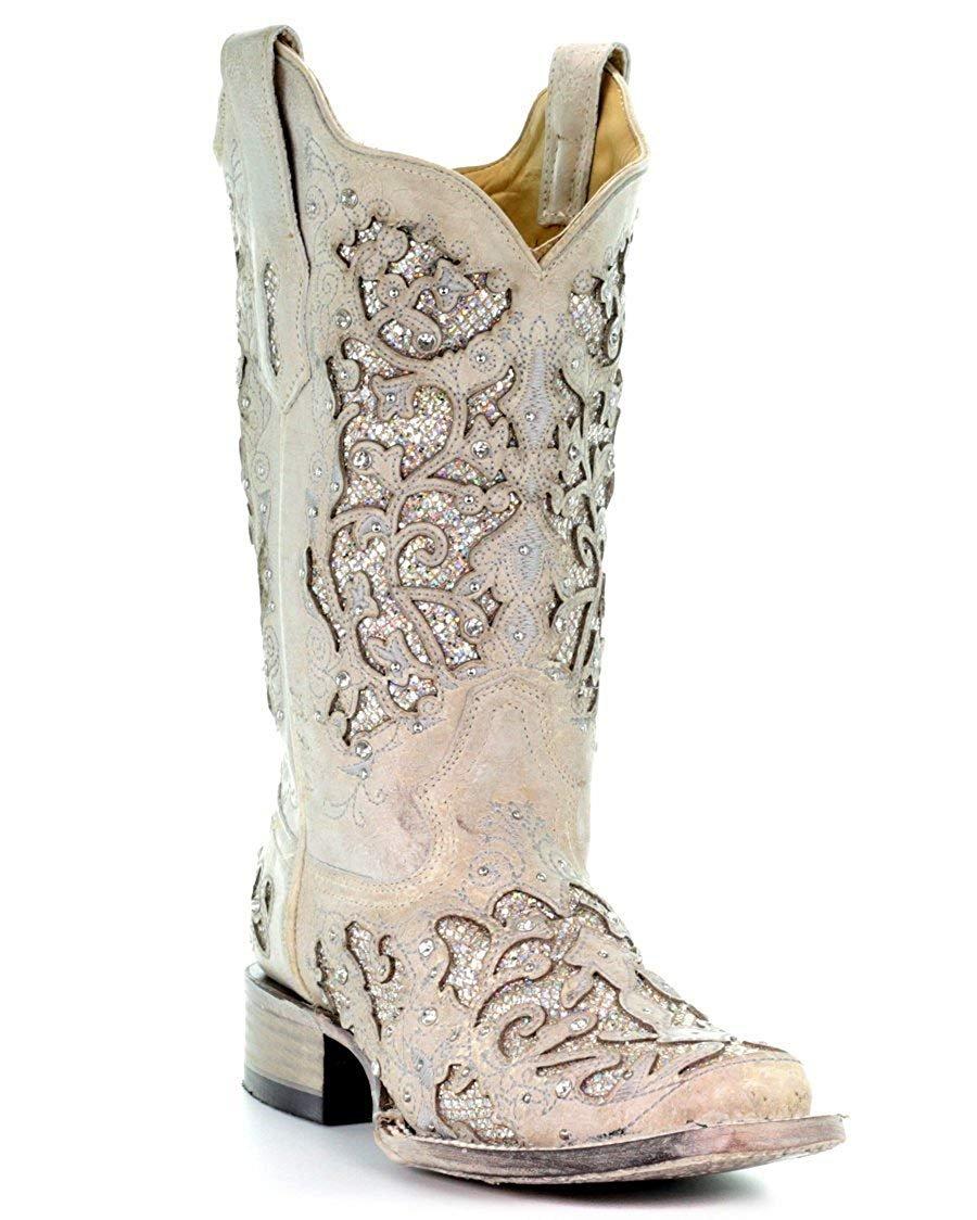 Corral Boots Women's A3397 White/White