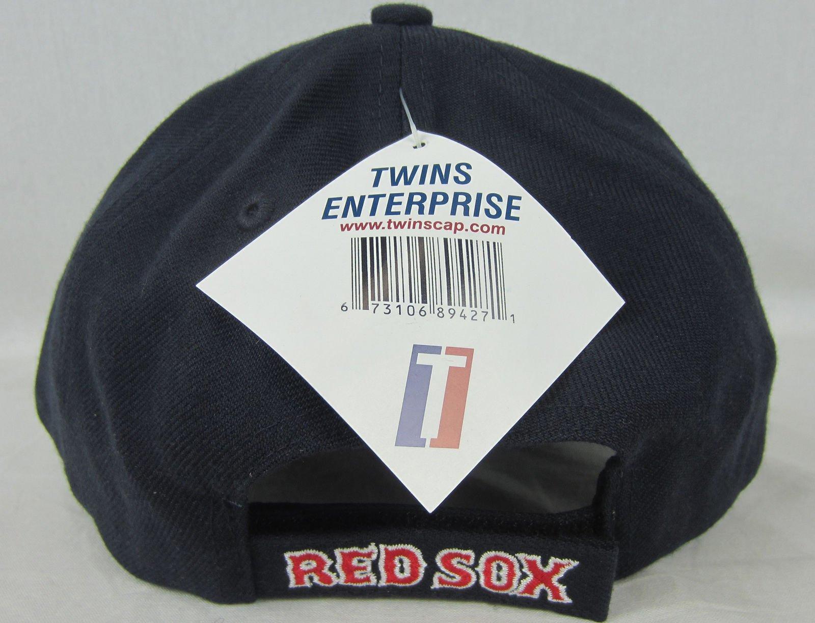 MLB Major League Baseball Adjustable Boston Red Sox wool blend unisex hat  cap f756653ffe68