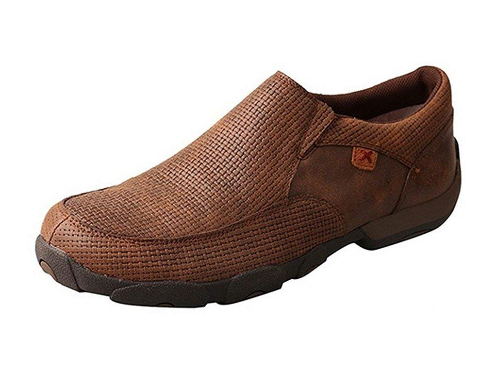 Mens Twisted X  Slip-on Driving Moccasins