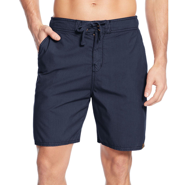 "Faded Glory Mens Navy Blue Swim Shorts Trunks Swimwear Size Small 28-30 18/"" seam"