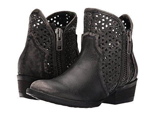 Circle G by Corral Ladies Black//Grey Cutout Shortie Boot Q0001