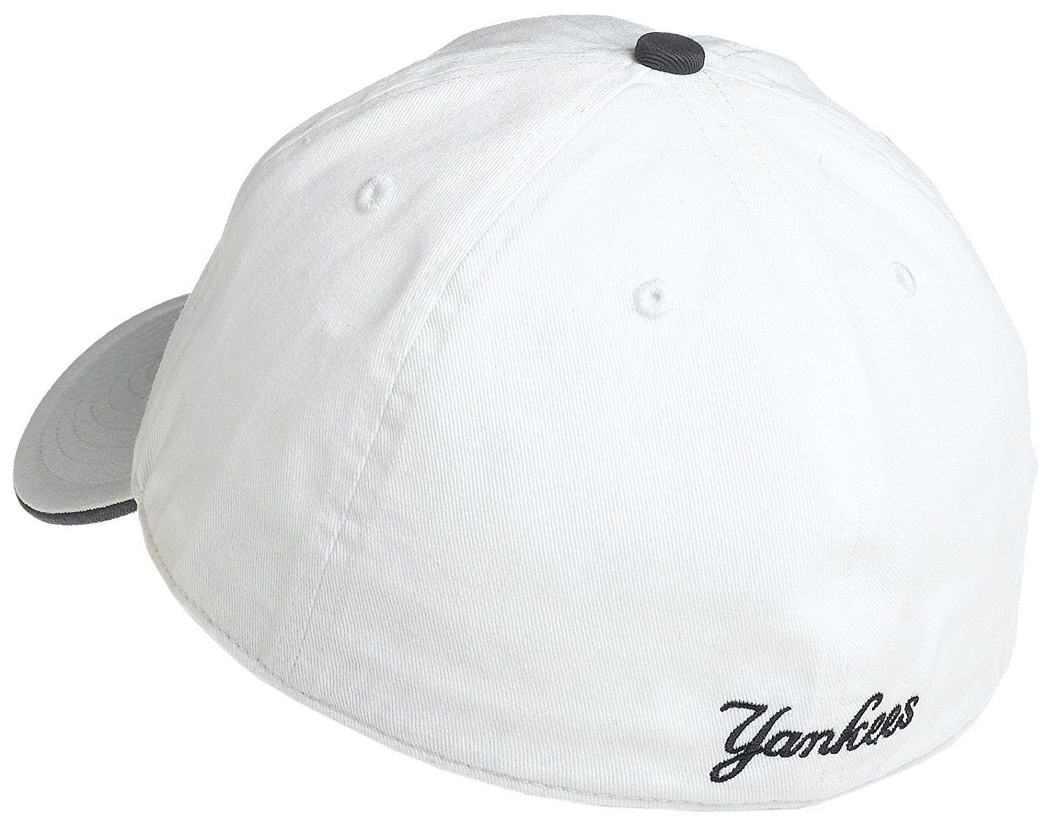 044837cd733 Product Details. MLB Major League Baseball Fitted New York Yankees unisex  hat cap any size M L ...