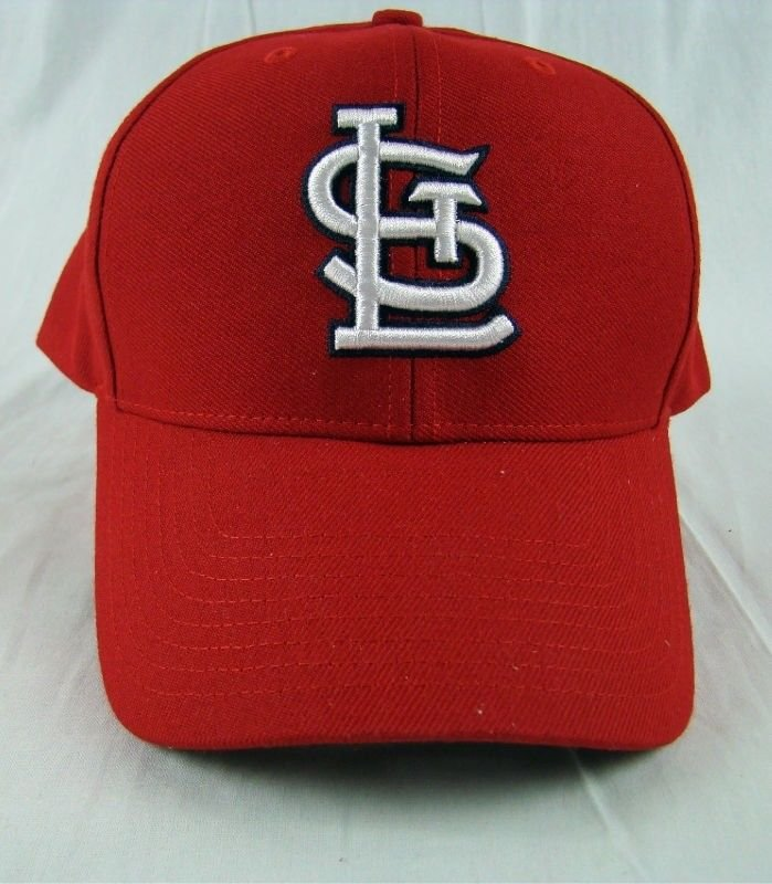 84c6e760e3bb2 MLB Major League Baseball Adjustable St Louis Cardinal wool blend Youth hat  cap. Product Details