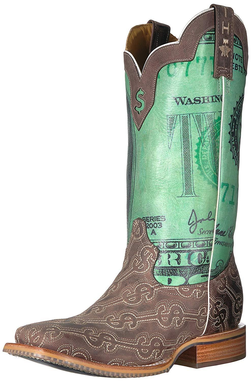 e539441591c Details about Tin Haul Shoes Men's Duece Western Boot 11.5 EE
