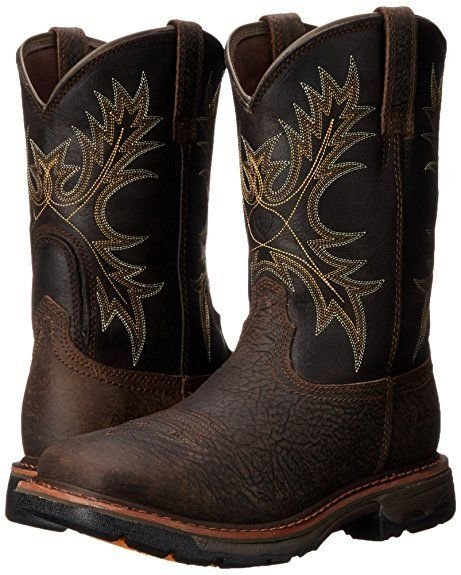 5b58058857e Details about Ariat Men's Workhog Wide Square-Toe H2O Work Boot 10017436