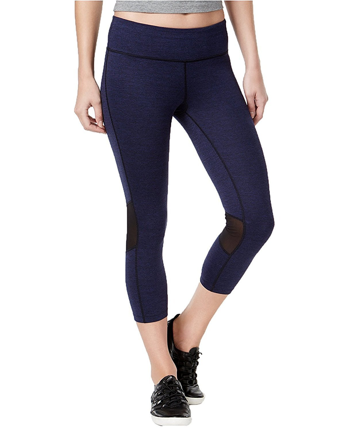cf77400f104456 Calvin Klein Performance Women's Space-Dyed Cropped Leggings | eBay