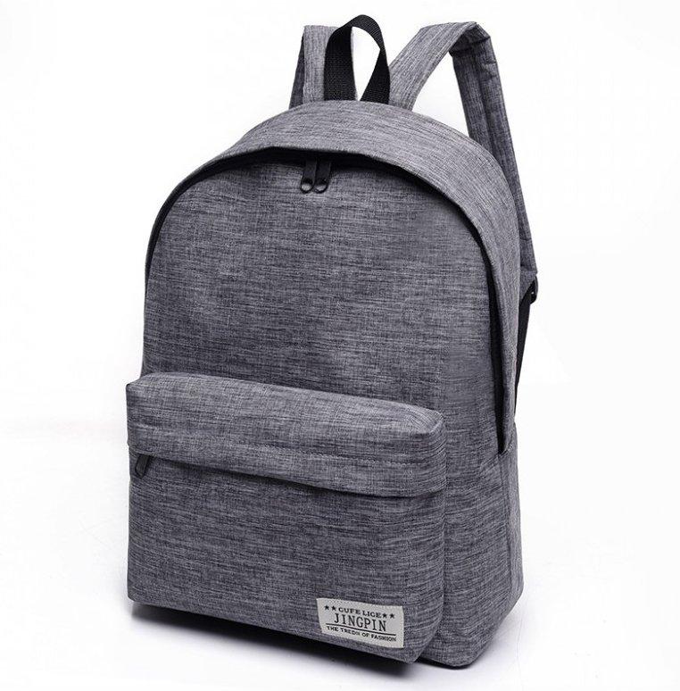 High-Quality-Women-or-Men-Canvas-Backpack-Shoulder-School-Bag-Travel thumbnail 8