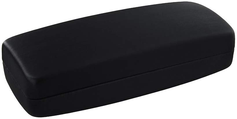 Extra Deep Large Metal Eyeglass Case, Fits Large to Extra La