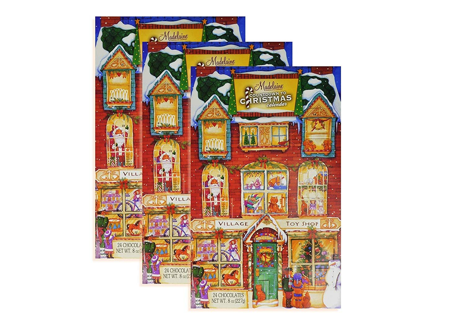 Madelaine Chocolates Christmas Countdown Advent Calendar Filled With