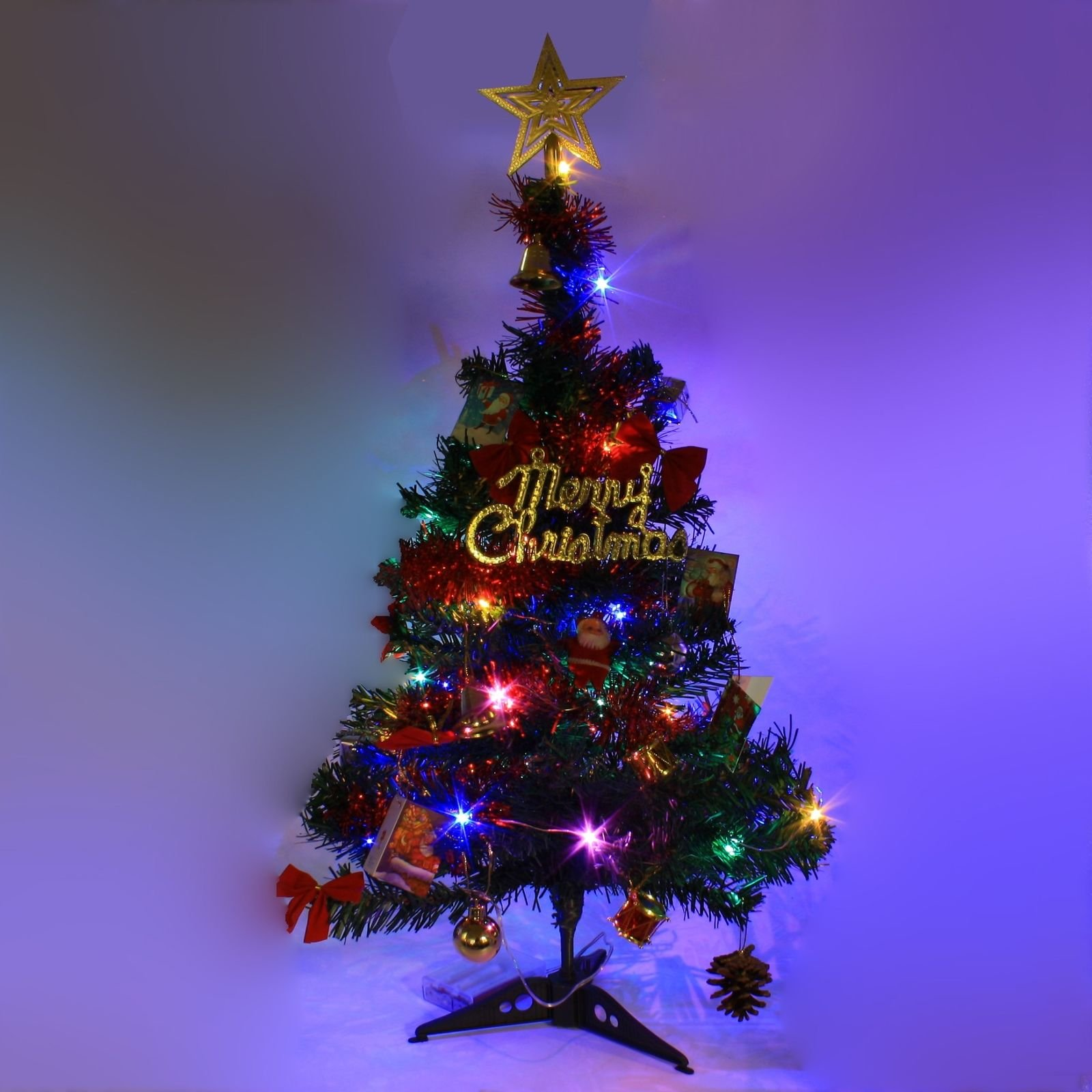 2 ft tabletop artificial small mini christmas tree