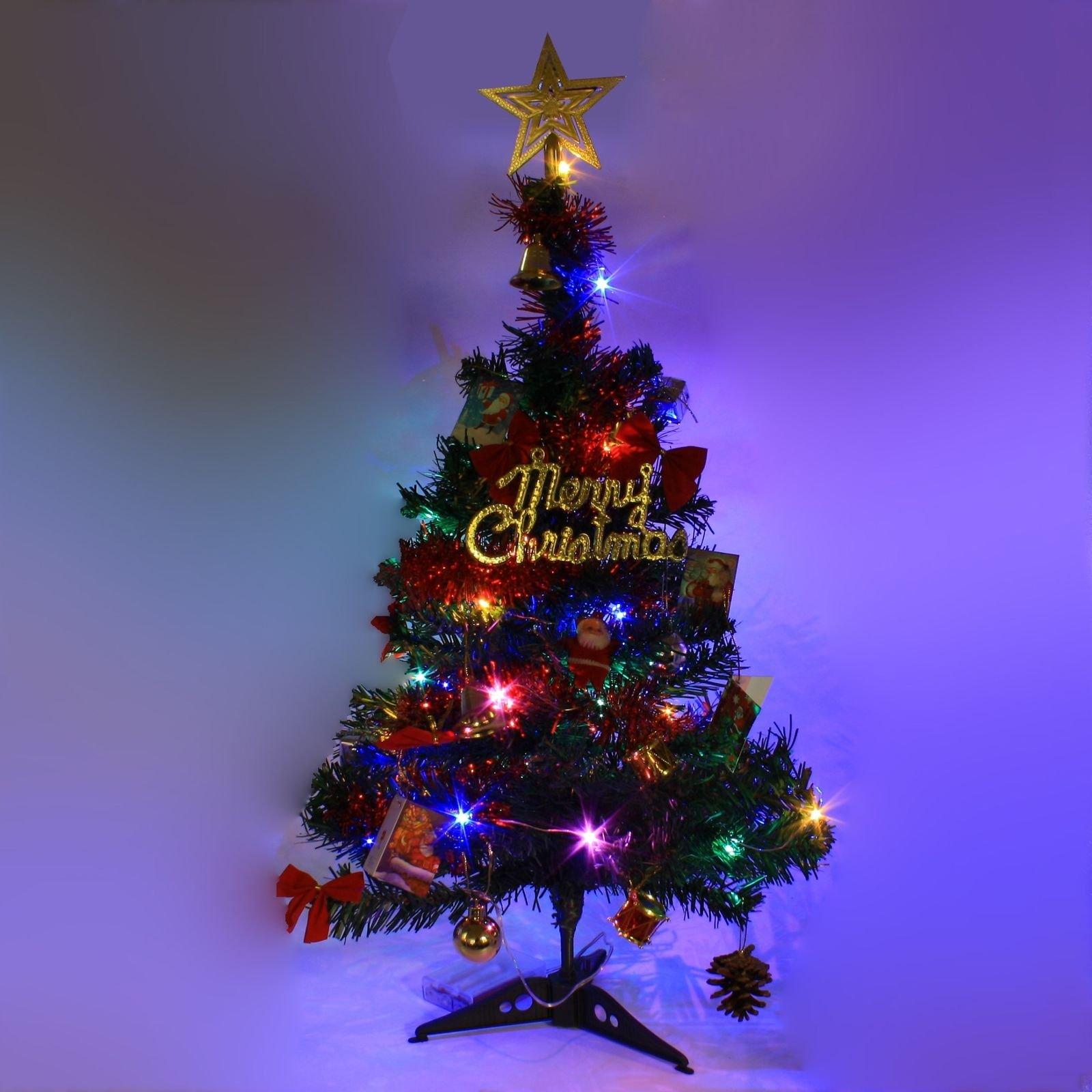 2 ft tabletop artificial small mini christmas tree - Small Purple Christmas Tree