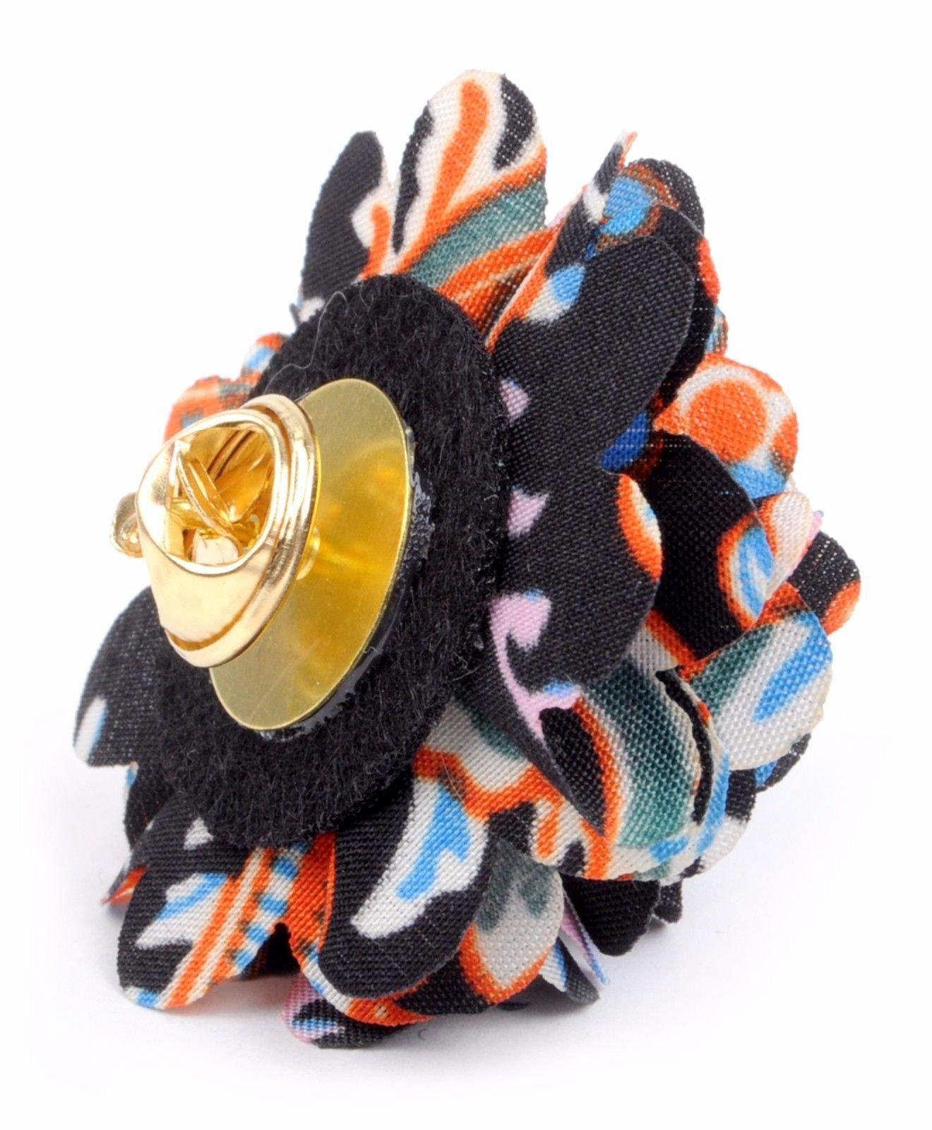 Vibrant-Paisley-Flower-Mini-Bouquet-Clutch-Back-Flower-Lapel-Pins-Boutonniere thumbnail 19