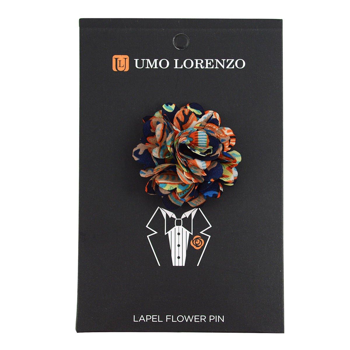 Vibrant-Paisley-Flower-Mini-Bouquet-Clutch-Back-Flower-Lapel-Pins-Boutonniere thumbnail 12