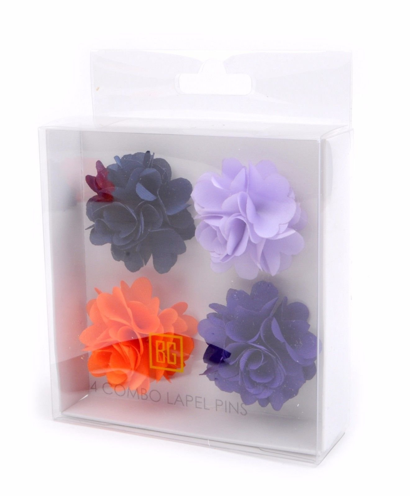 BG-Mini-Bouquet-Clutch-Back-Flower-Tuxedo-Suit-Lapel-Pins-Boutonniere-4-Pack-Set thumbnail 22