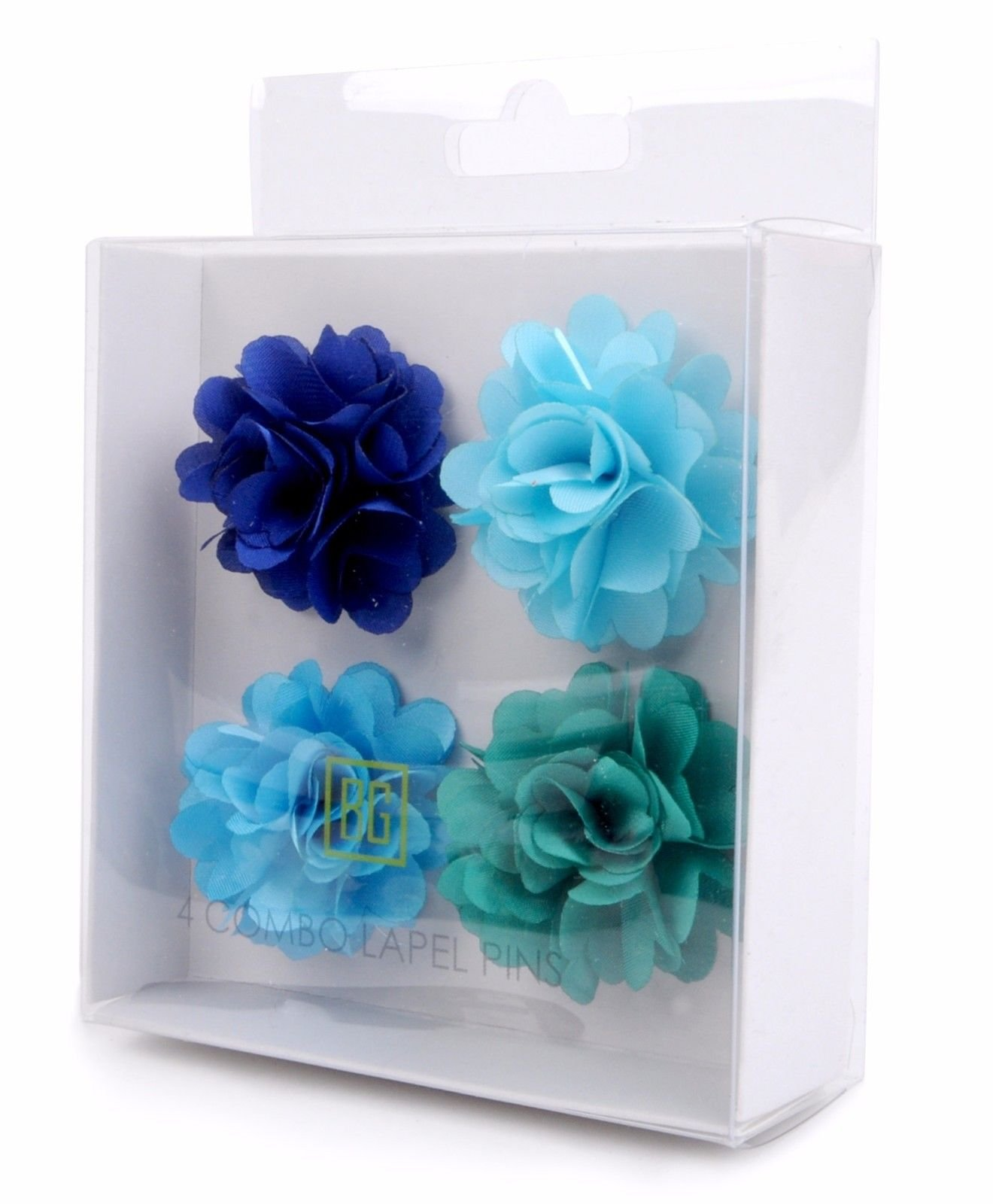 BG-Mini-Bouquet-Clutch-Back-Flower-Tuxedo-Suit-Lapel-Pins-Boutonniere-4-Pack-Set thumbnail 26