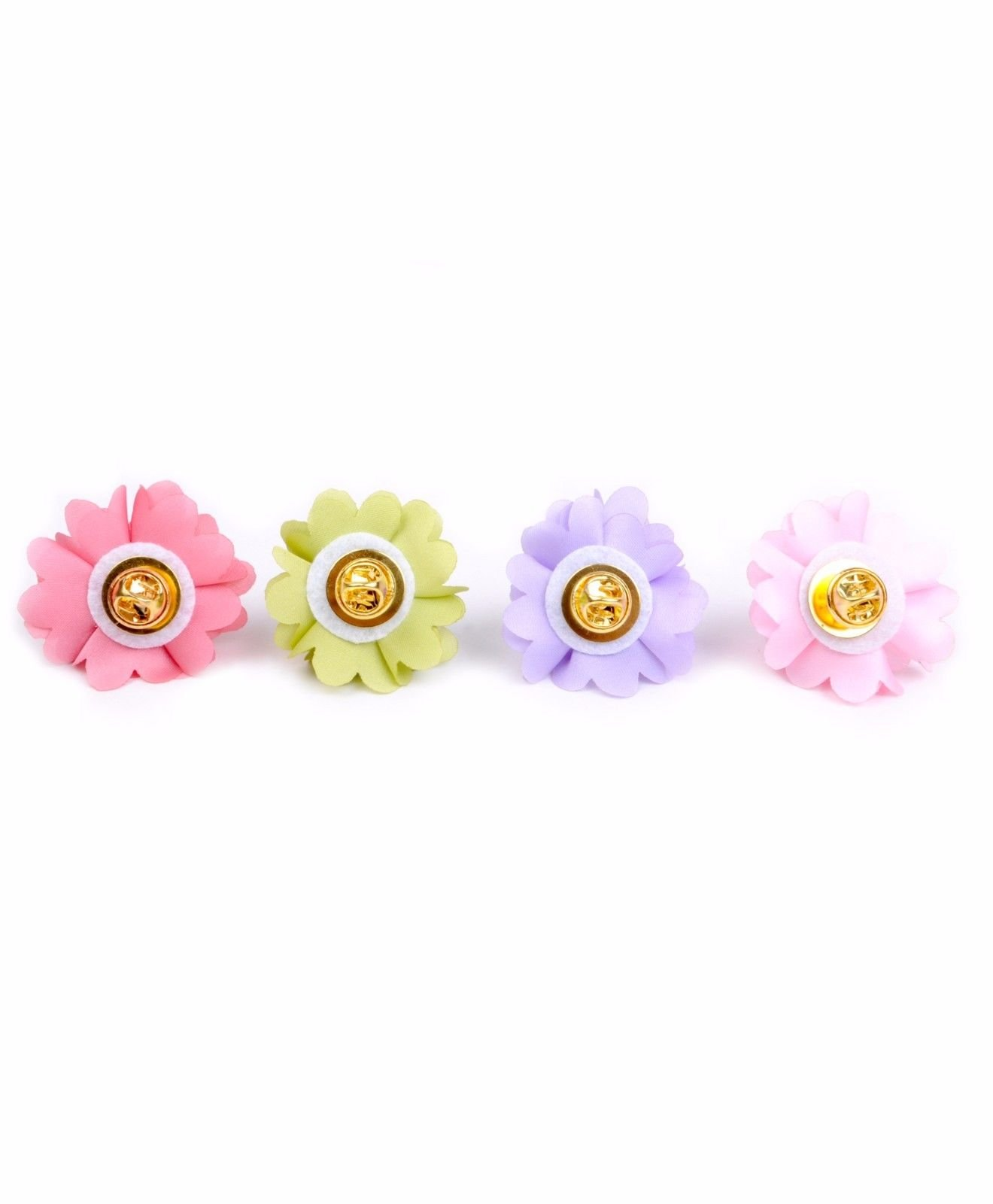 BG-Mini-Bouquet-Clutch-Back-Flower-Tuxedo-Suit-Lapel-Pins-Boutonniere-4-Pack-Set thumbnail 13