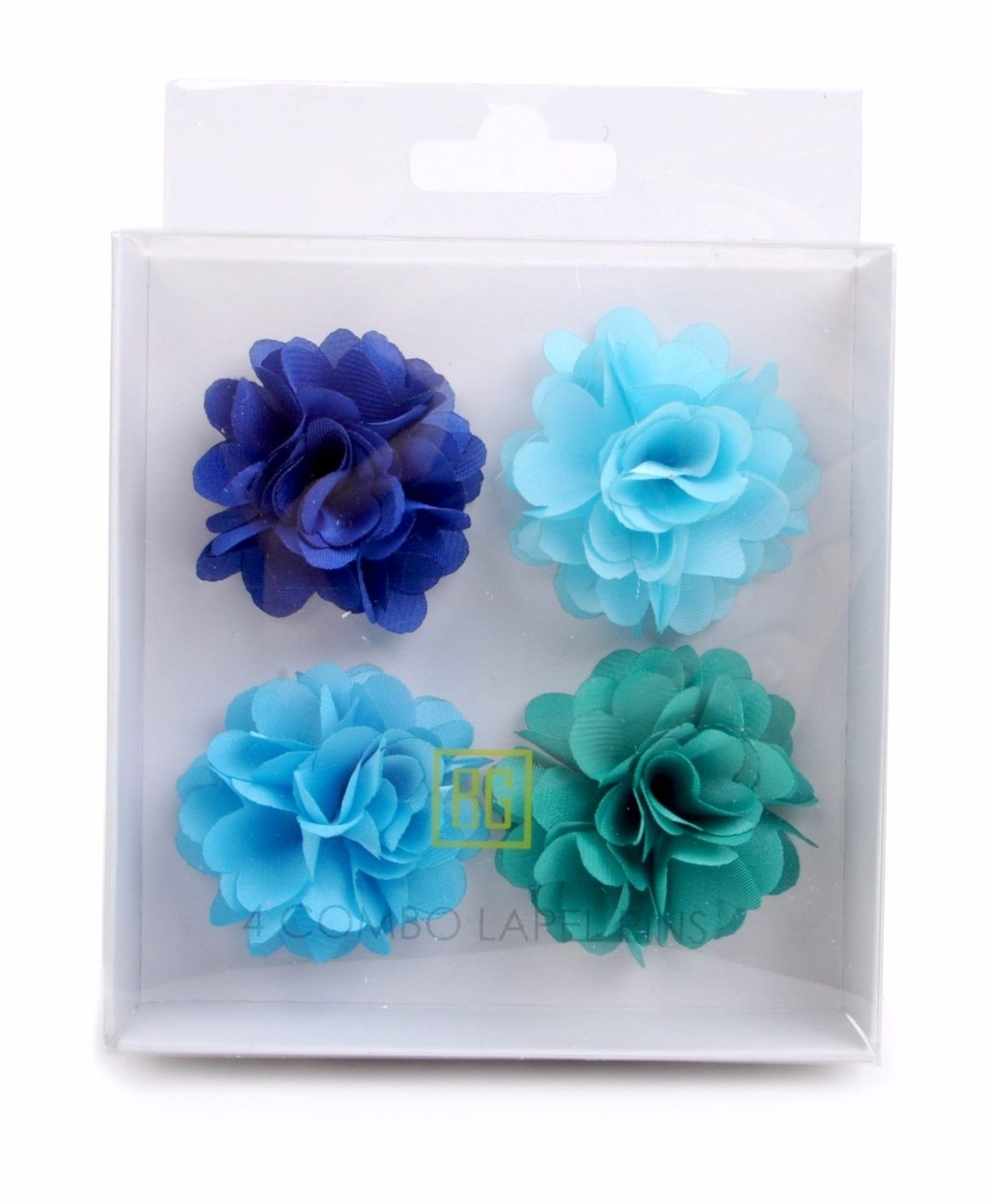 BG-Mini-Bouquet-Clutch-Back-Flower-Tuxedo-Suit-Lapel-Pins-Boutonniere-4-Pack-Set thumbnail 27