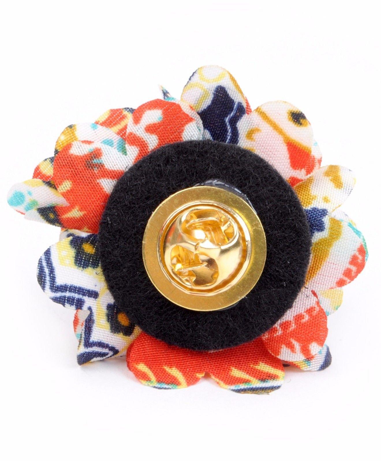 Vibrant-Paisley-Flower-Mini-Bouquet-Clutch-Back-Flower-Lapel-Pins-Boutonniere thumbnail 22