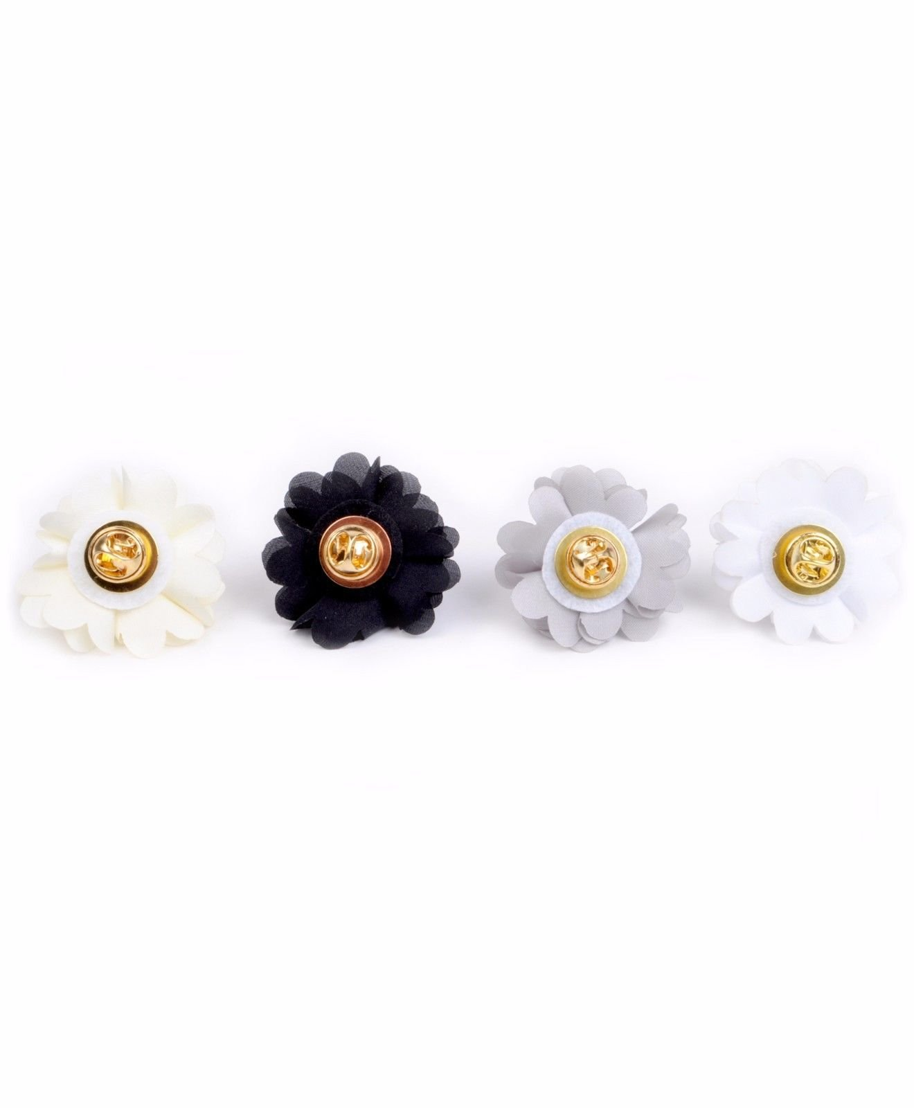 BG-Mini-Bouquet-Clutch-Back-Flower-Tuxedo-Suit-Lapel-Pins-Boutonniere-4-Pack-Set thumbnail 29