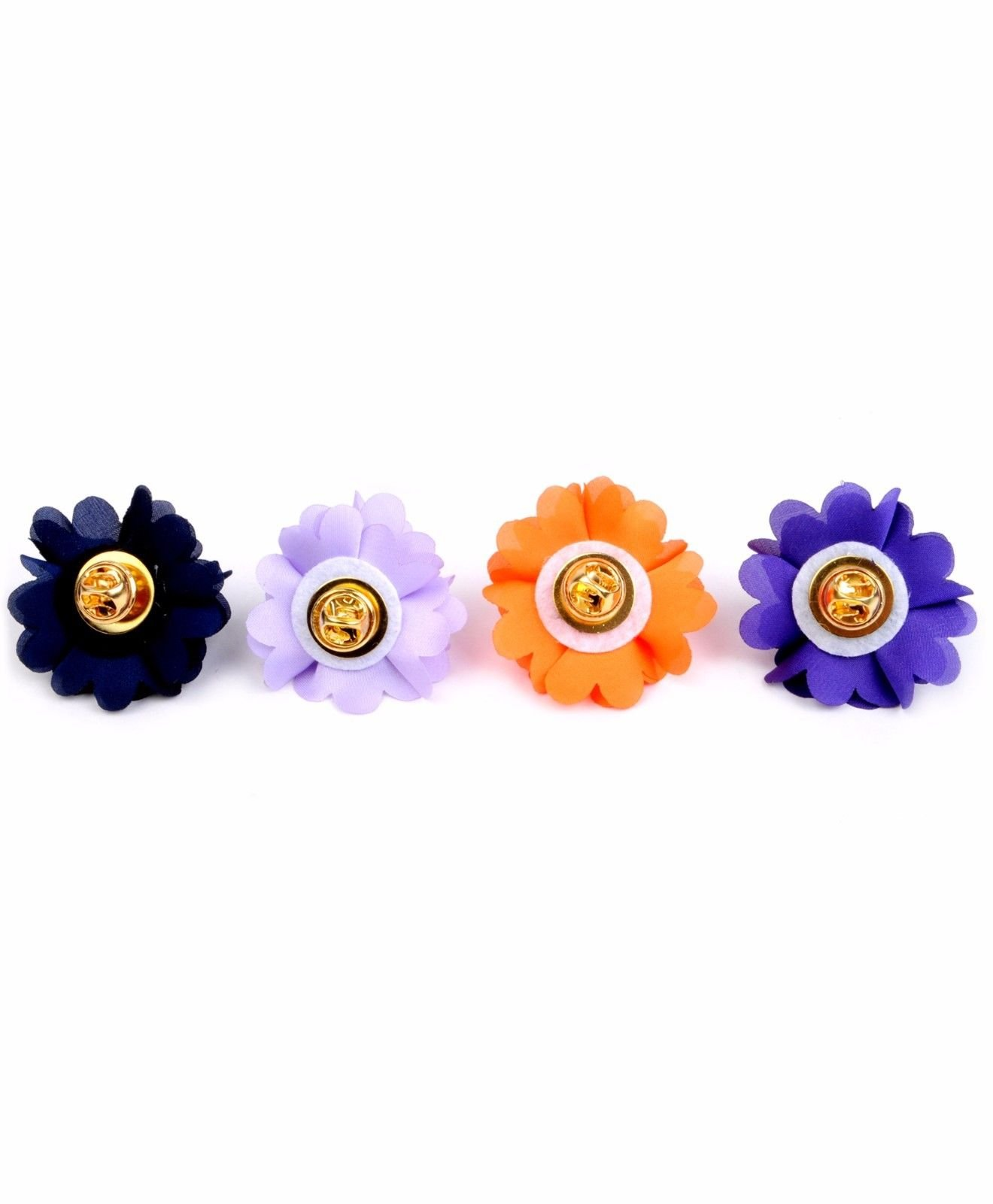 BG-Mini-Bouquet-Clutch-Back-Flower-Tuxedo-Suit-Lapel-Pins-Boutonniere-4-Pack-Set thumbnail 21