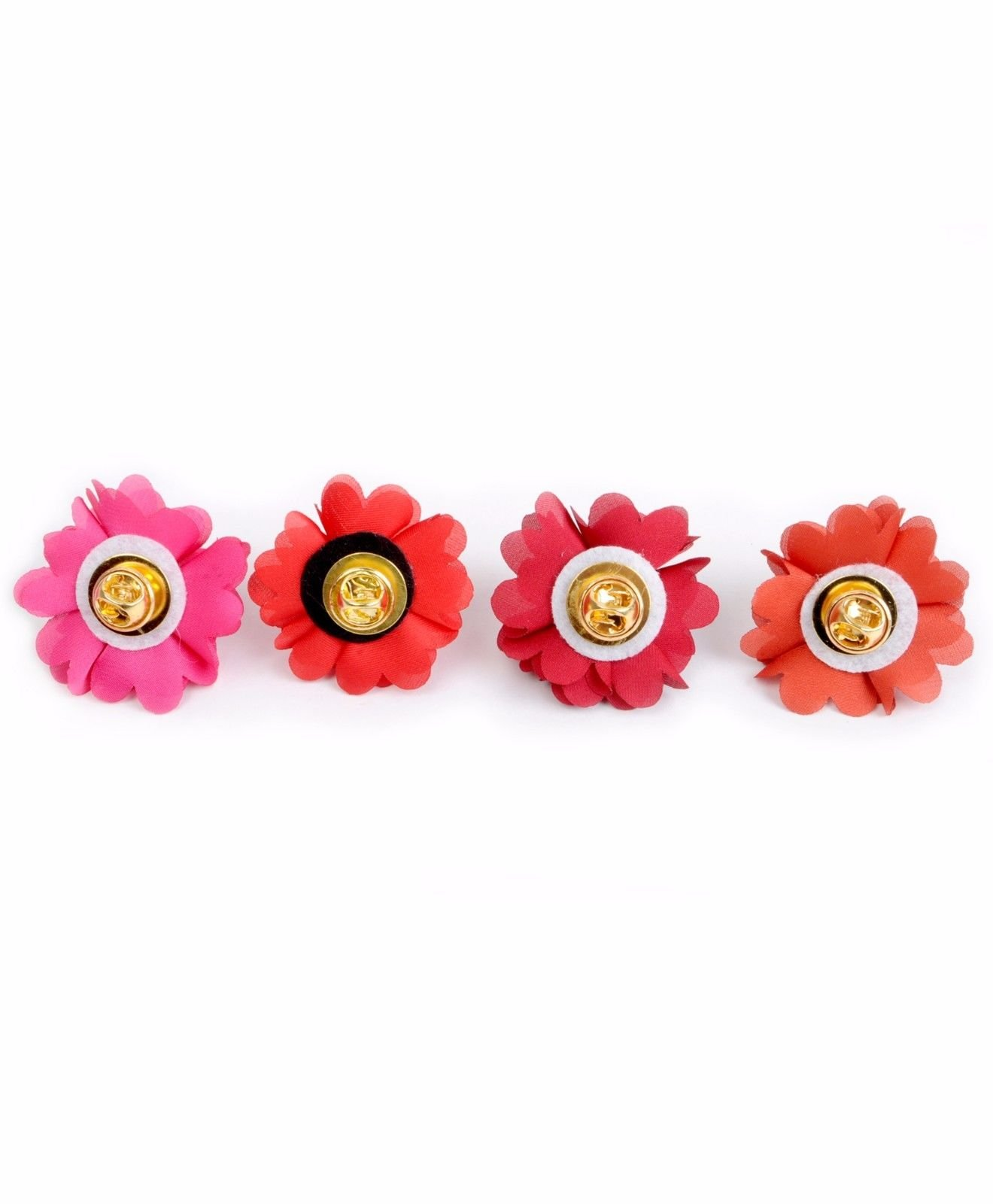 BG-Mini-Bouquet-Clutch-Back-Flower-Tuxedo-Suit-Lapel-Pins-Boutonniere-4-Pack-Set thumbnail 9
