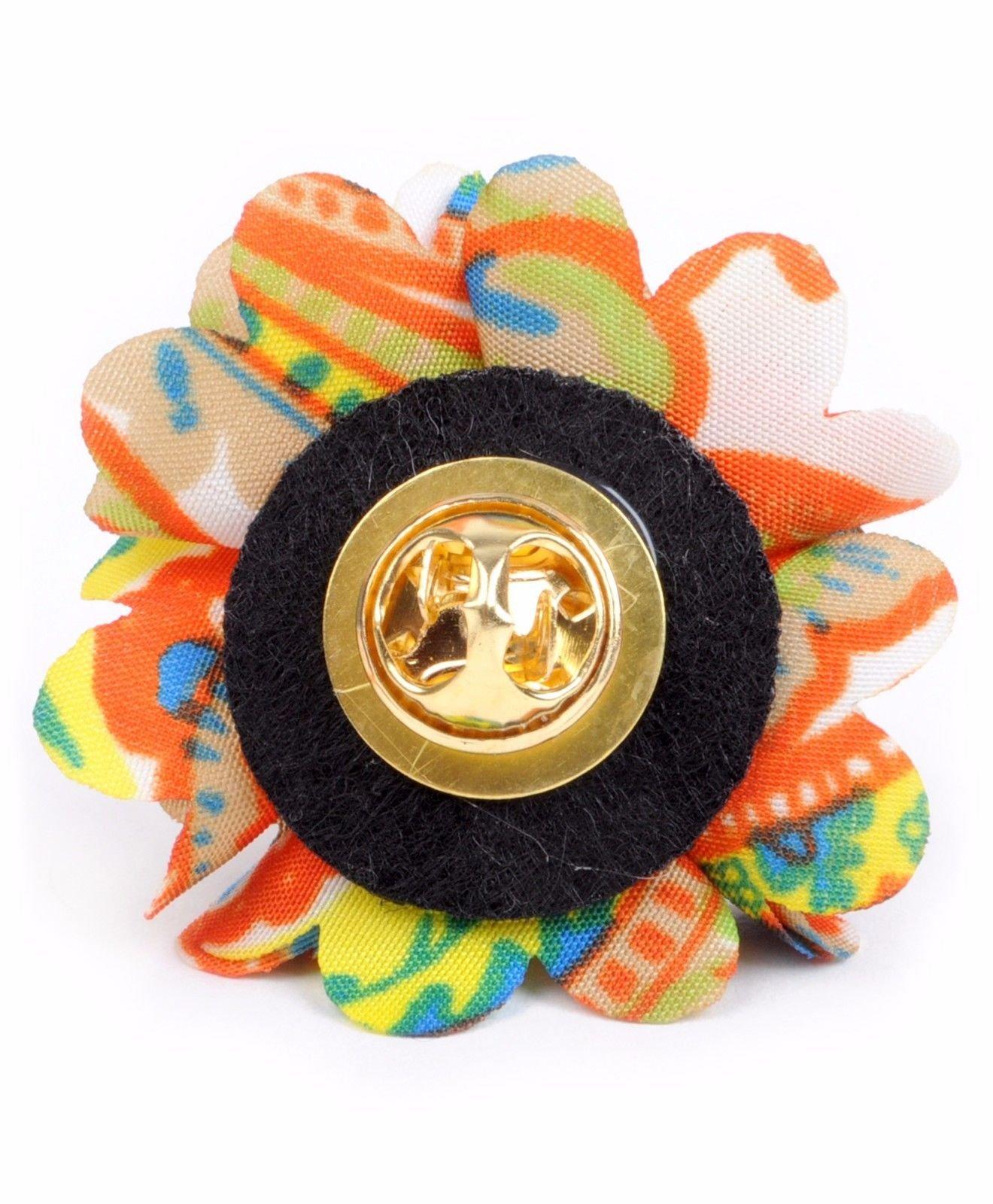 Vibrant-Paisley-Flower-Mini-Bouquet-Clutch-Back-Flower-Lapel-Pins-Boutonniere thumbnail 26