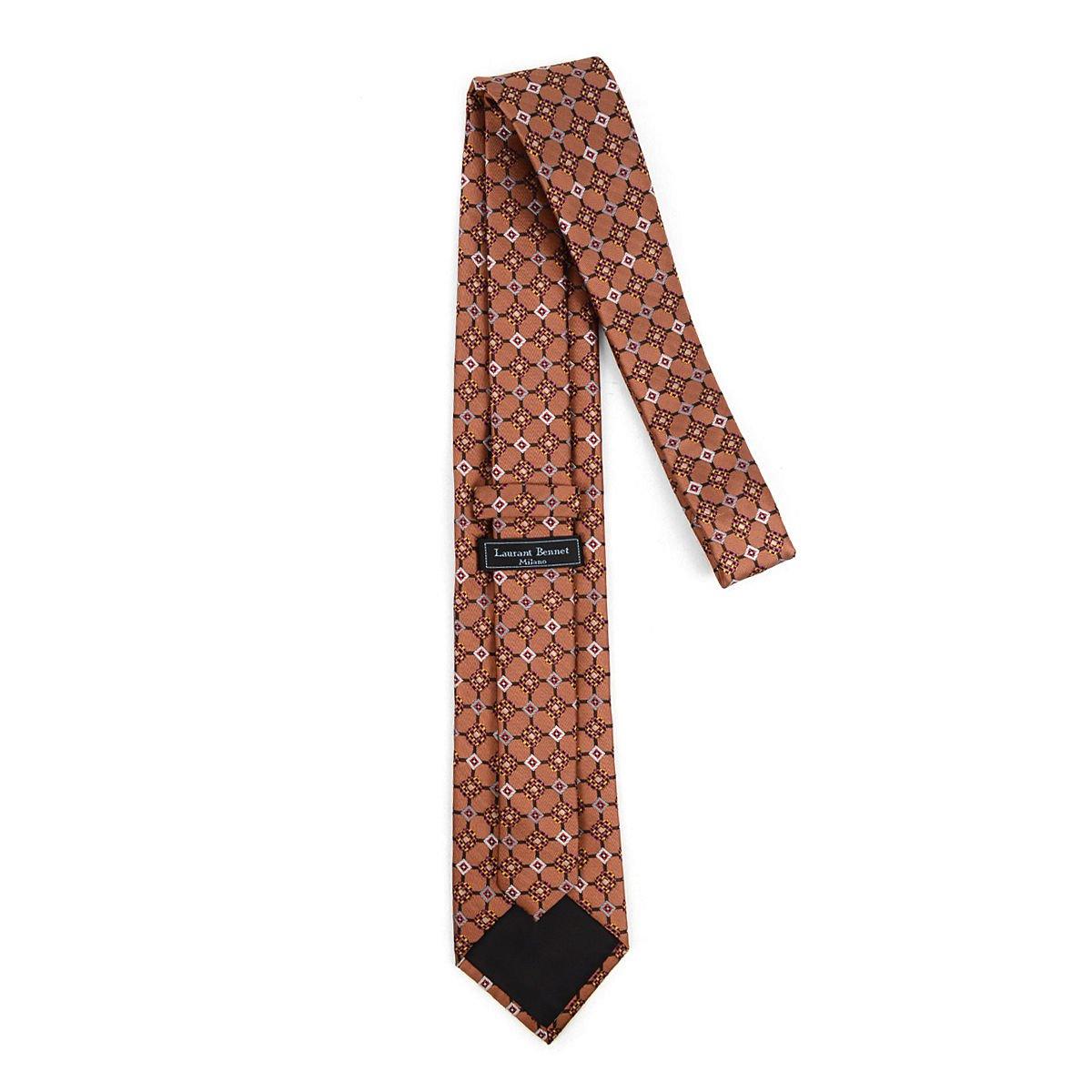 Men's Geometric Kaleidoscope Woven Tie MPW5832