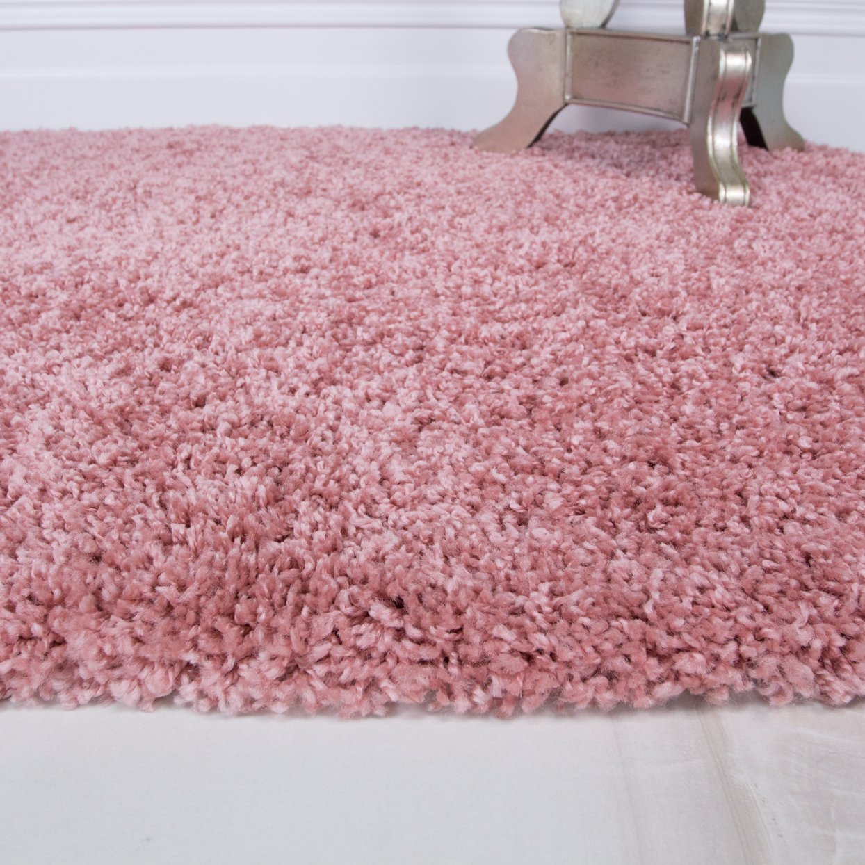 Cosy Bedside Bedroom Floor Shaggy Shag Rugs Fluffy Thick