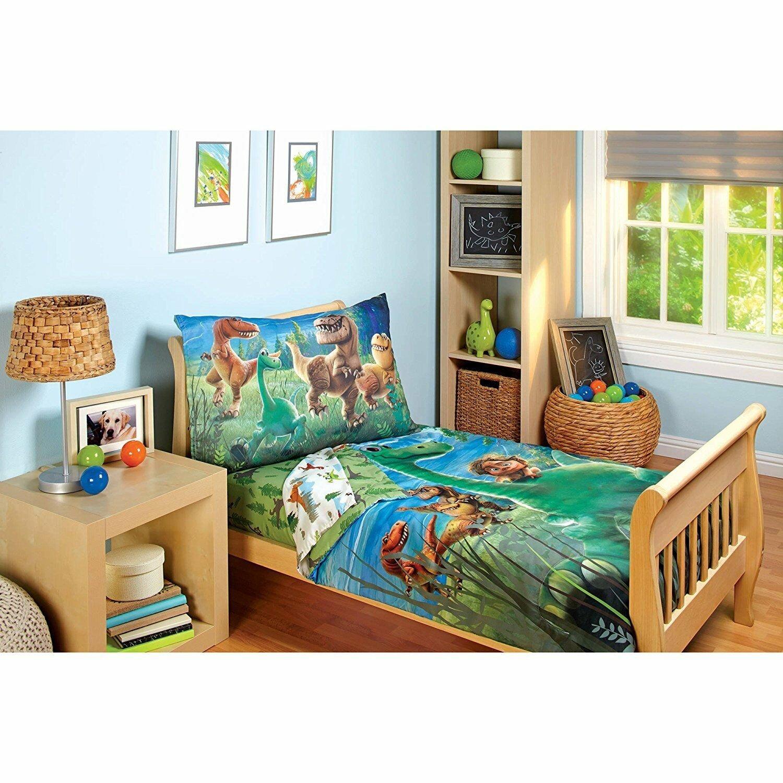 The Good Dinosaur 4 Piece Toddler Bedding Set 85214103907 Ebay