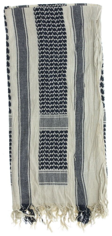 Heavyweight Cotton Military Shemagh Keffiyeh Head Scarf With ... 7a984cd325