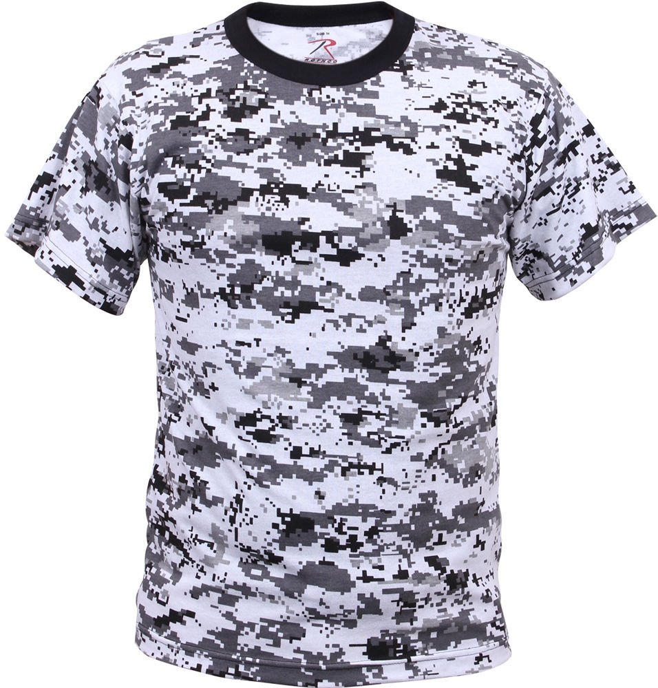 3d0ef729b Digital Camouflage Tactical Military Short Sleeve Army