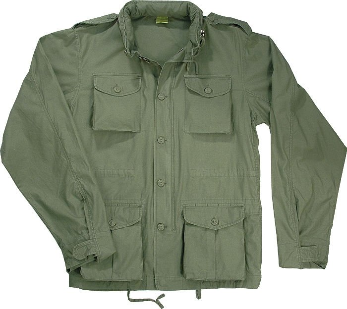 Lightweight Vintage Military M-65 Army Field Jacket | eBay