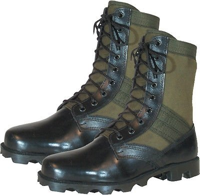 Leather-Military-Jungle-Boots-8-034-Vietnam-Style-Jungle-Boots-Panama-Sole