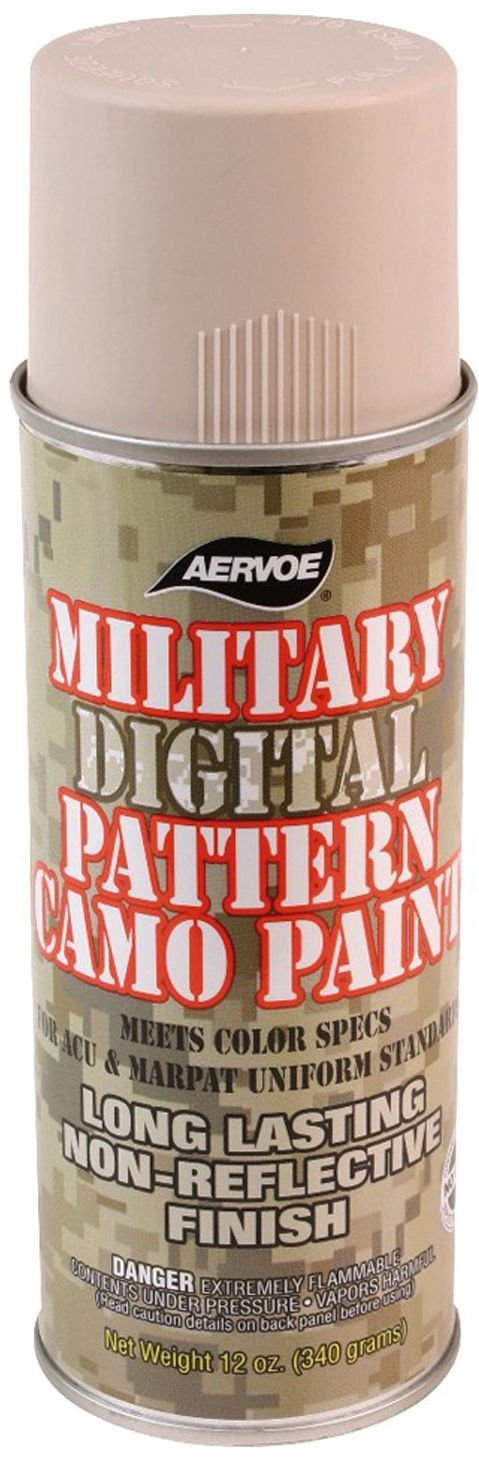 military camouflage spray paint