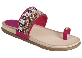 2a99fe224 Sale Best Ethnic Roman Toe Ring Flip Flop Wedge Sandal for Women Her 2019