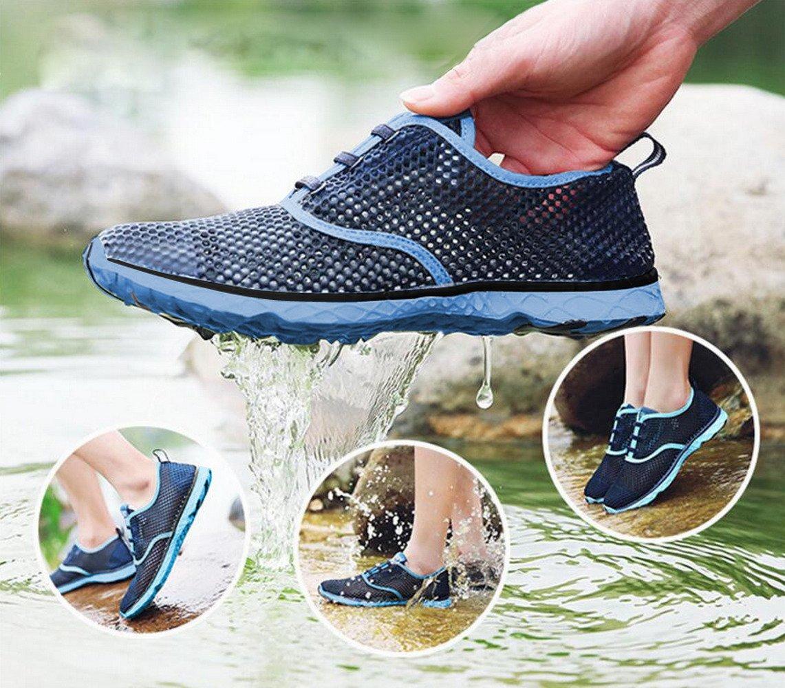 Sea-Kidz-Kids-Water-Sneakers-Black-Pink-Blue-Mesh-Water-Shoes-Toddler9-Big-Kid-7 thumbnail 5