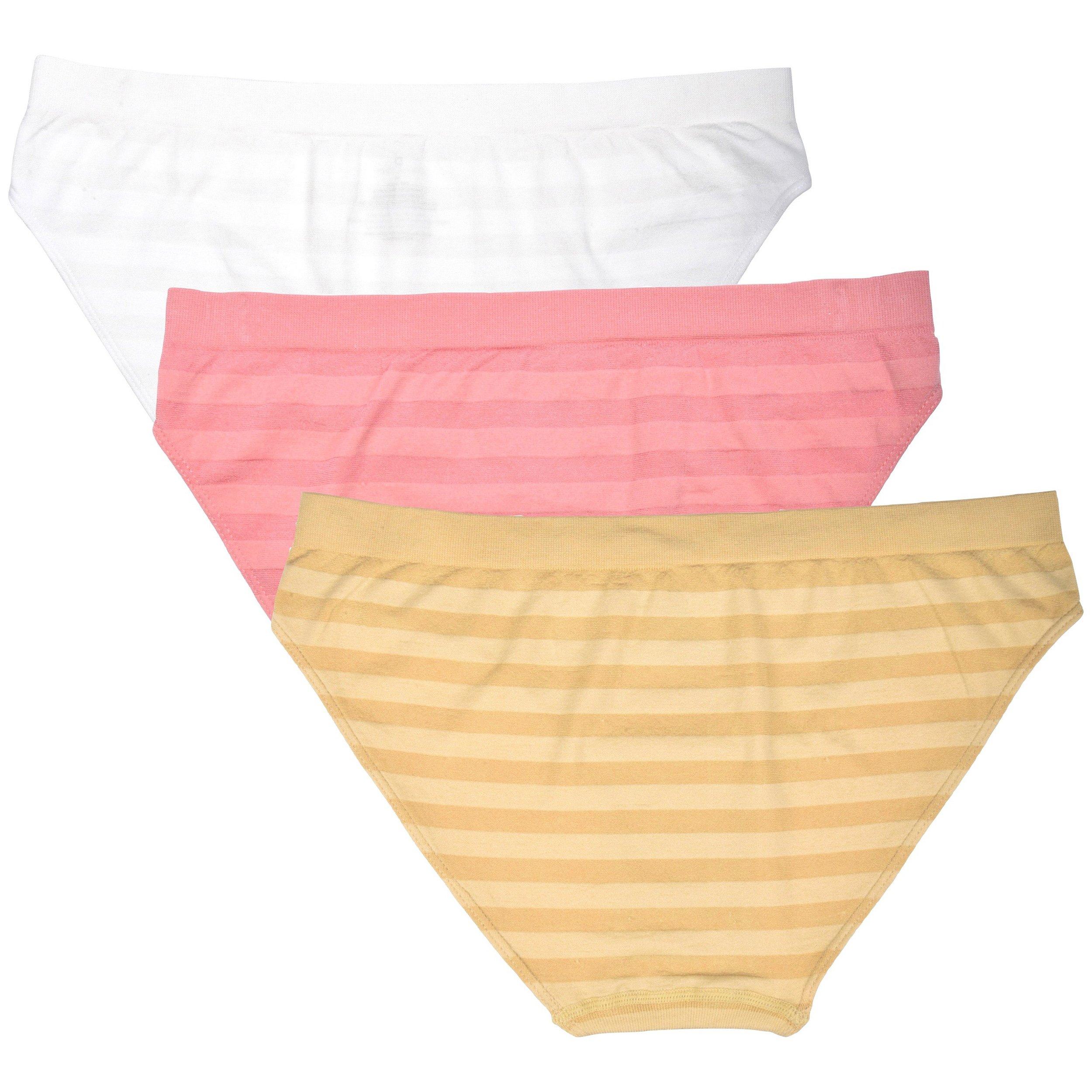 Donna-Loren-Women-039-s-Bikinis-Panties-3-Pack-High-Quality-Underwear-Briefs thumbnail 8