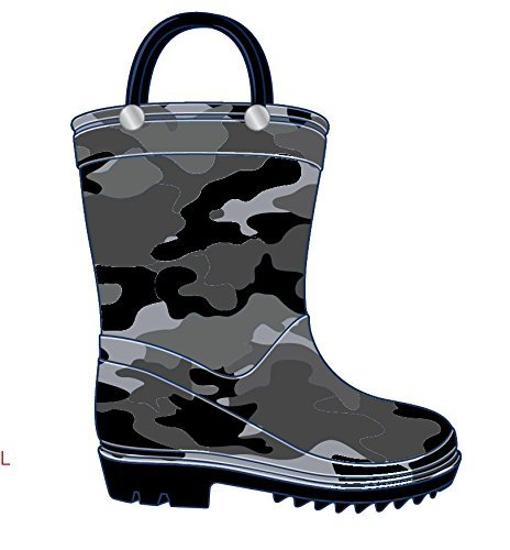 Storm-Kidz-Kids-Boys-Camo-Rainboots-Toddler-Little-Kid-Big-Kid-Sizes-Green thumbnail 4