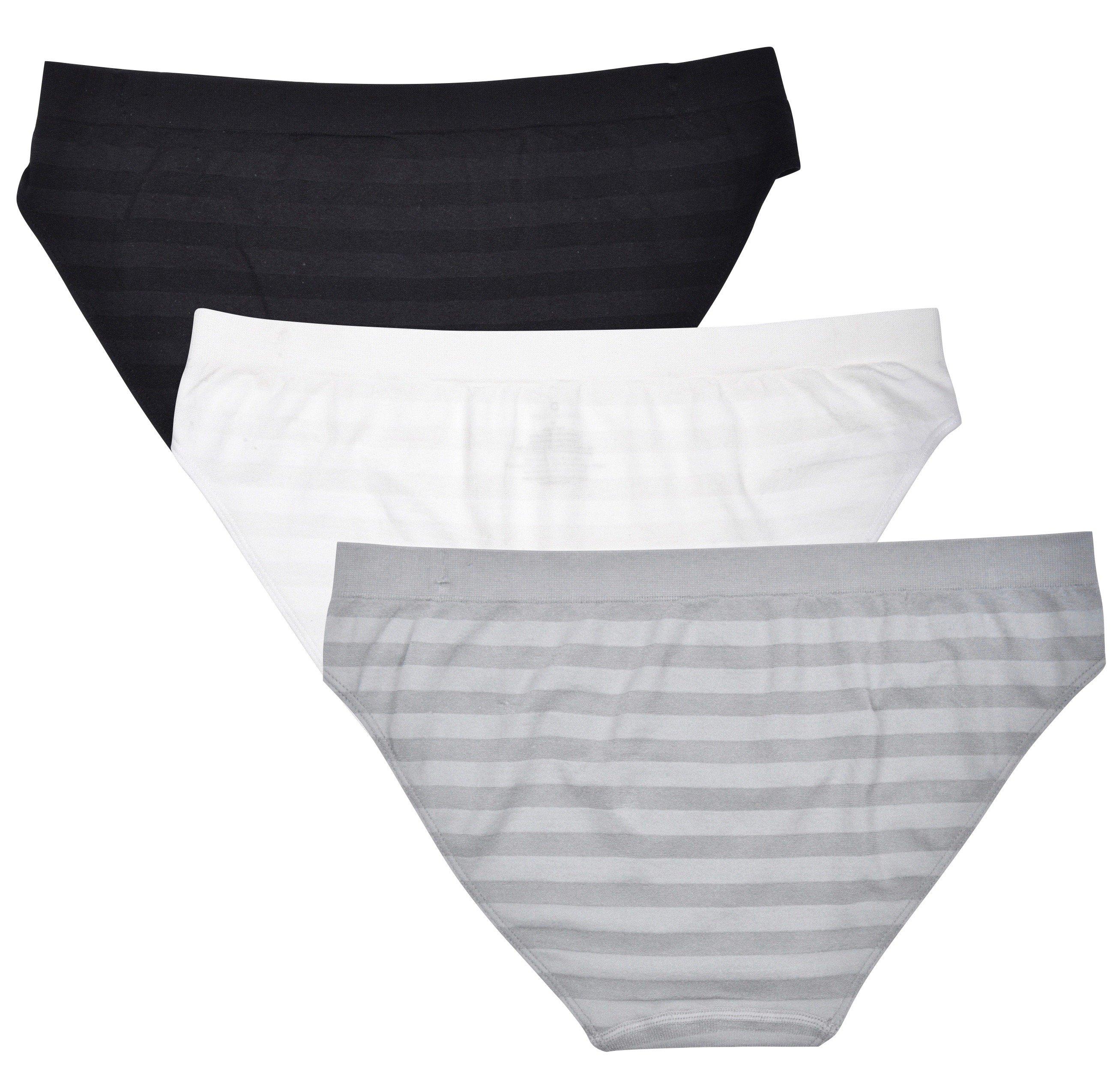 Donna-Loren-Women-039-s-Bikinis-Panties-3-Pack-High-Quality-Underwear-Briefs thumbnail 6