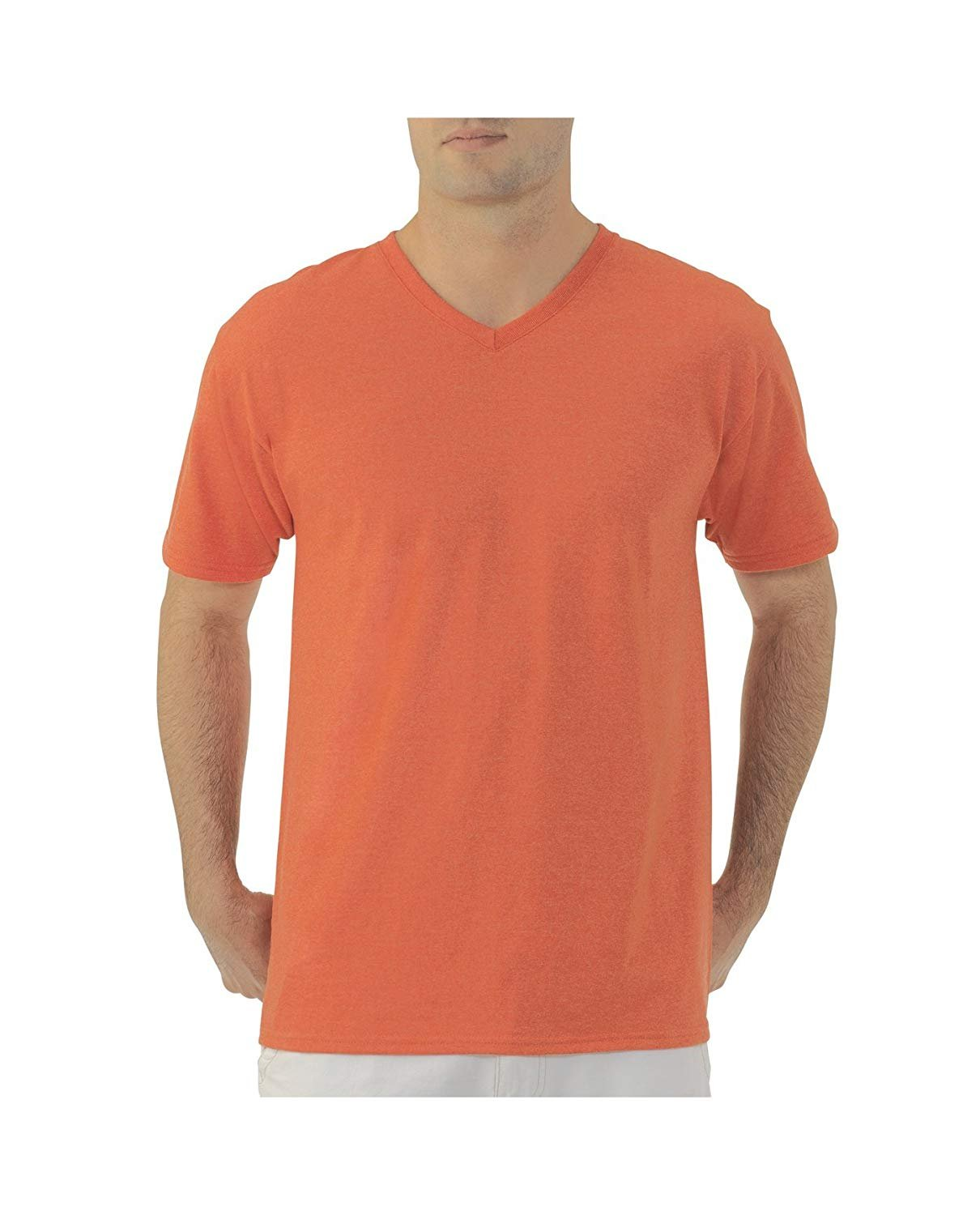 Fruit Of The Loom Mens V Neck T Shirt Assorted Colors Size 2x 3x