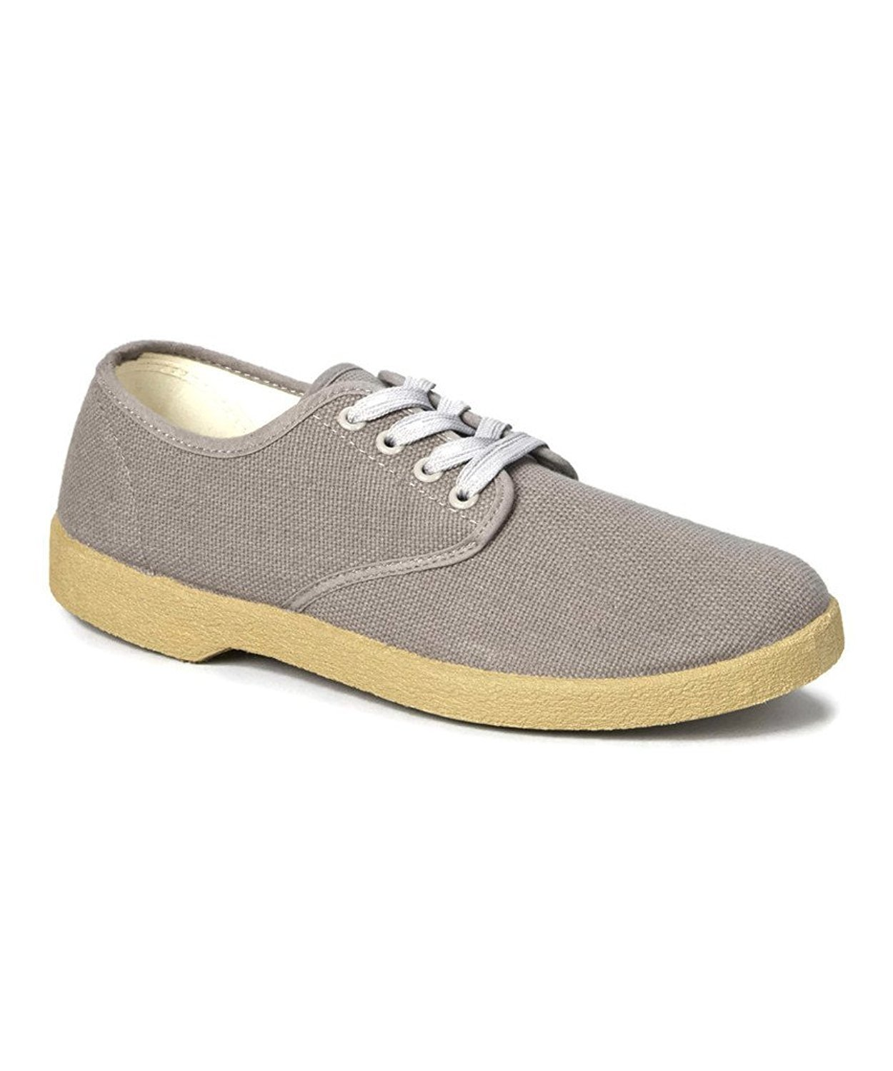 zig zag canvas oxford shoes beige winos sizes 6 5 13 new