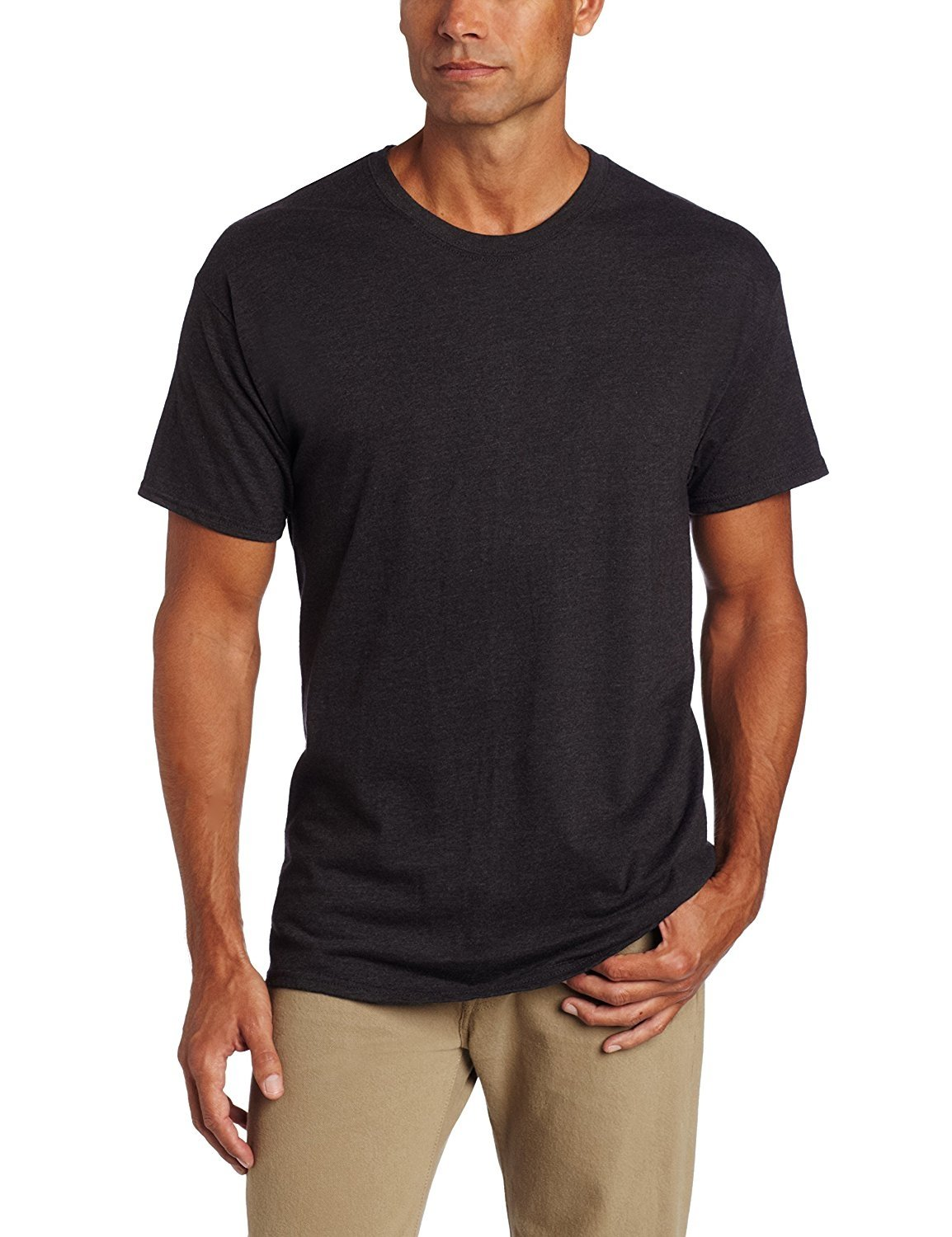 f526e8b6 Hanes Mens Underwear 6990bk Classics X-temp Crew Neck Soft Breathable Small  Deep Charcoal. About this product. Picture 1 of 2; Picture 2 of 2