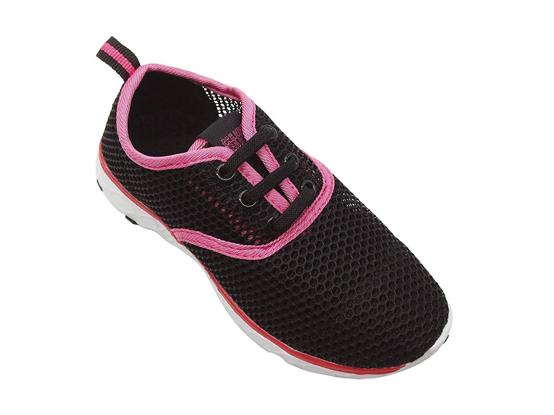 Sea-Kidz-Kids-Water-Sneakers-Black-Pink-Blue-Mesh-Water-Shoes-Toddler9-Big-Kid-7 thumbnail 4