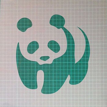 Panda Jungle Bear Animal Mylar Airbrush Painting Wall Art Crafts Stencil two