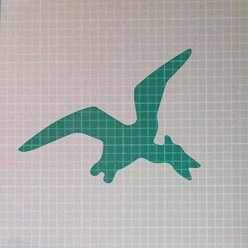 PTERODACTYL Dinosaur Shape Mylar Airbrush Painting Wall Art Stencil two