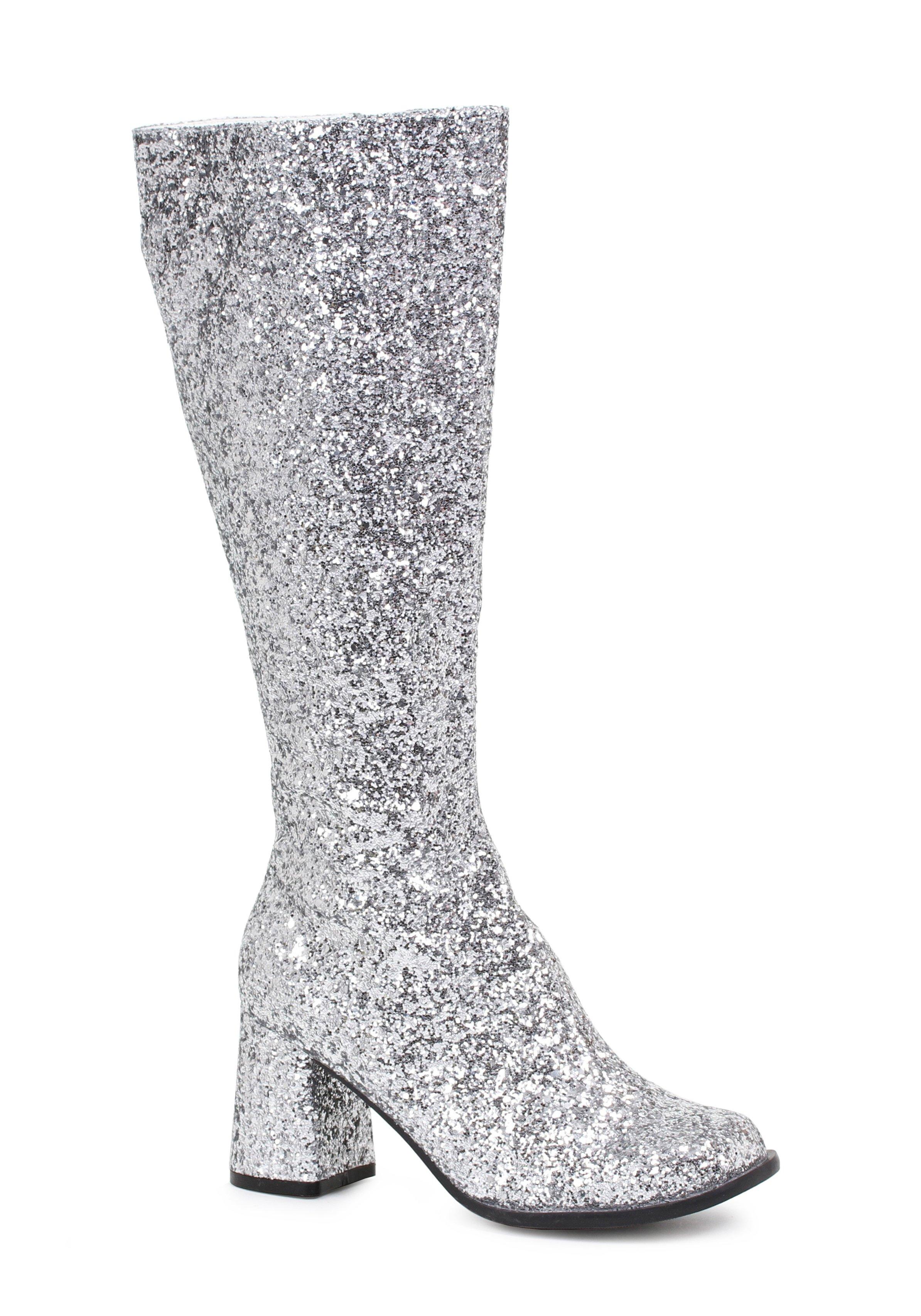 91d8f1da7822d Ellie Shoes Women's Gogo-g Boot Silver 9 Us/9 M US